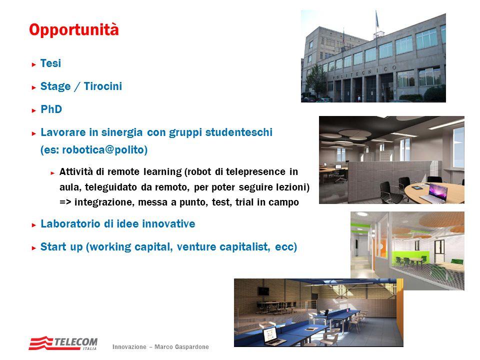 Opportunità Tesi Stage / Tirocini PhD