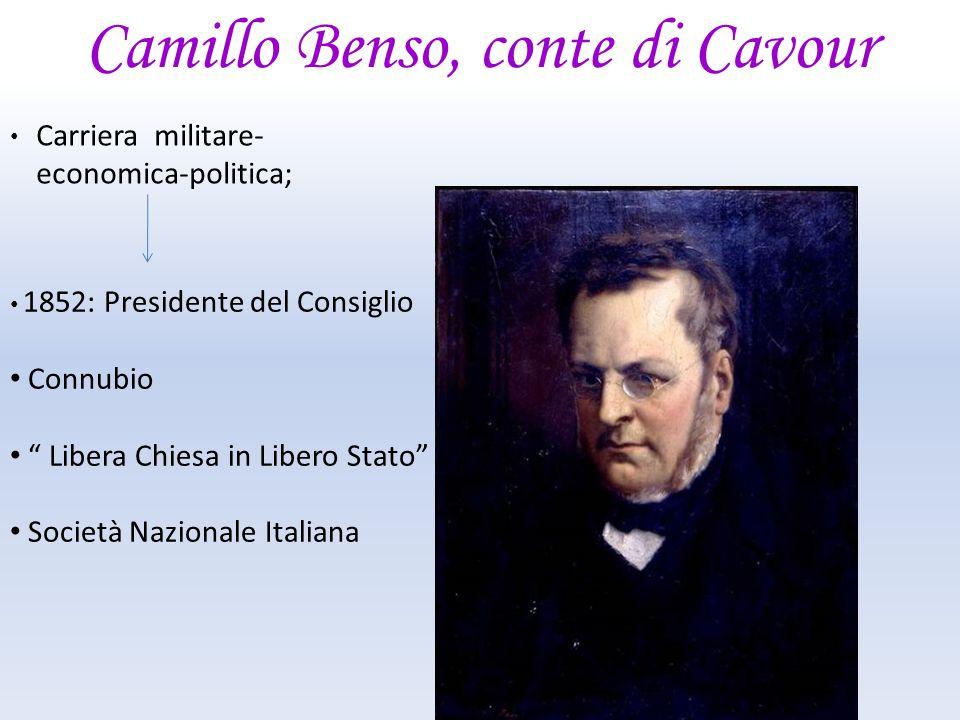 Camillo Benso, conte di Cavour