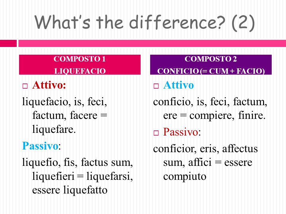 What's the difference (2)