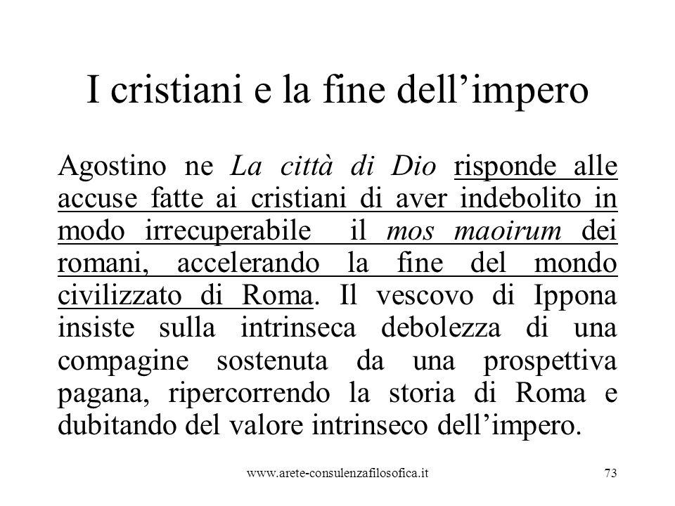 I cristiani e la fine dell'impero
