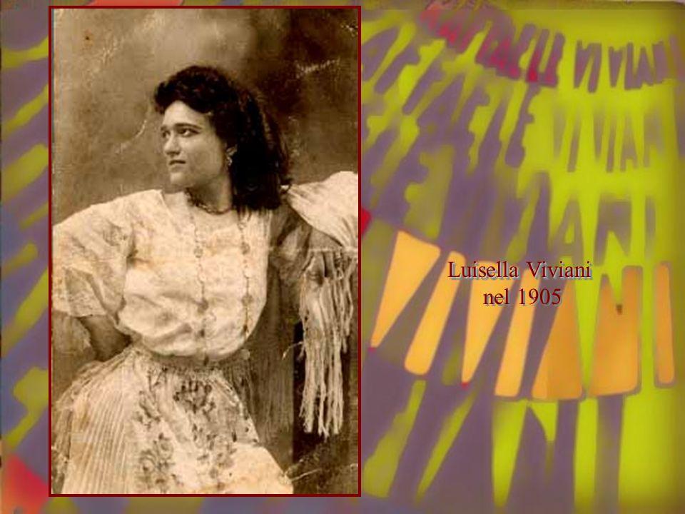 Luisella Viviani nel 1905