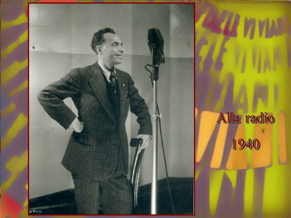 Alla radio 1940