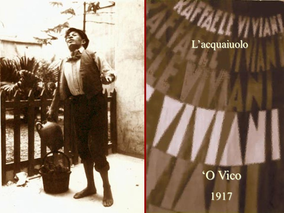 L'acquaiuolo 'O Vico 1917