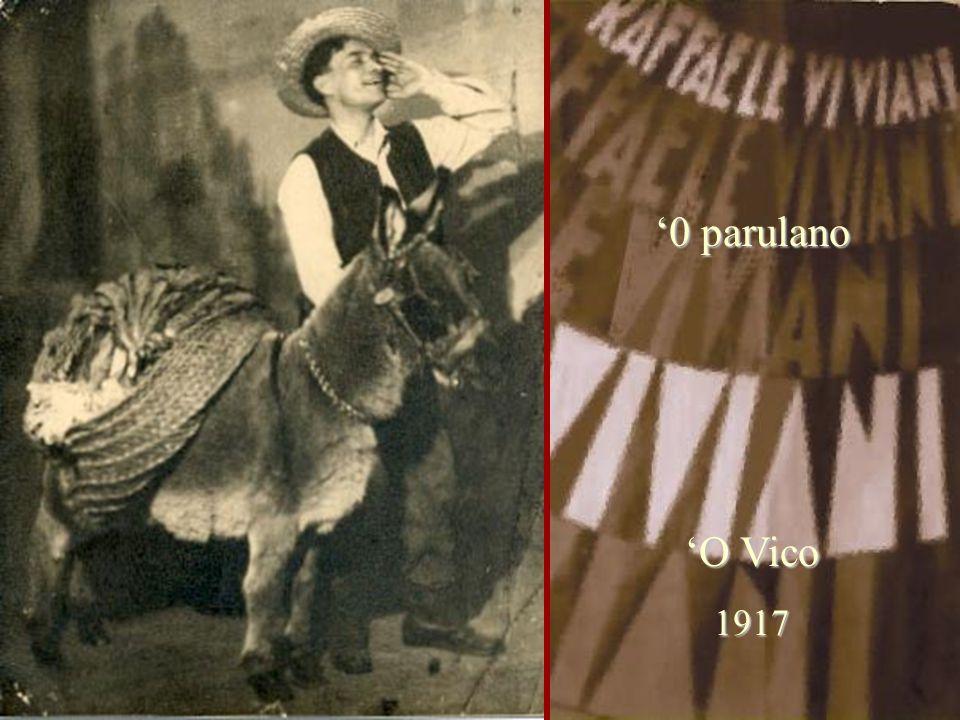 '0 parulano 'O Vico 1917
