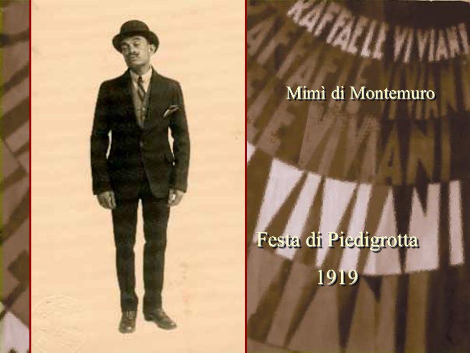 Mimì di Montemuro Festa di Piedigrotta 1919