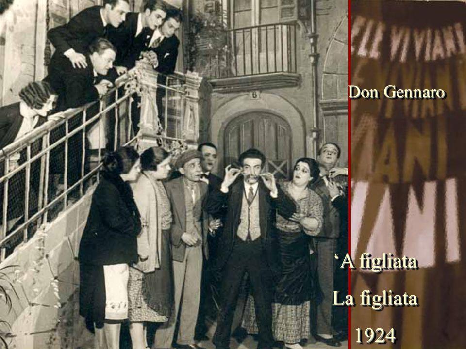 Don Gennaro 'A figliata La figliata 1924