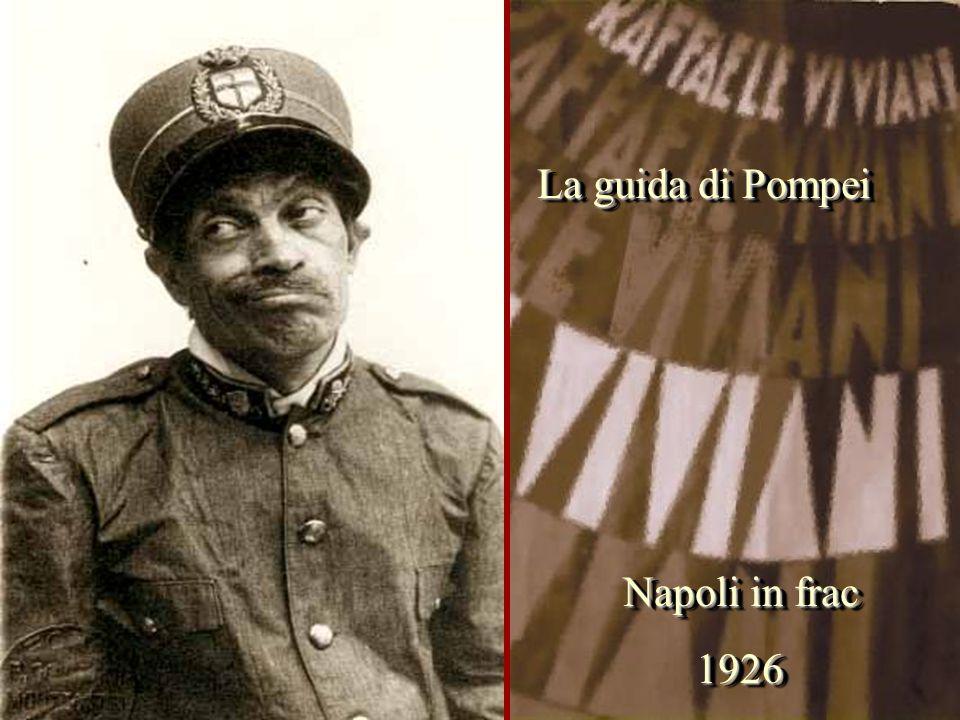 La guida di Pompei Napoli in frac 1926
