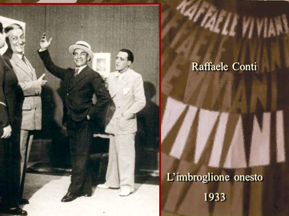 Raffaele Conti L'imbroglione onesto 1933
