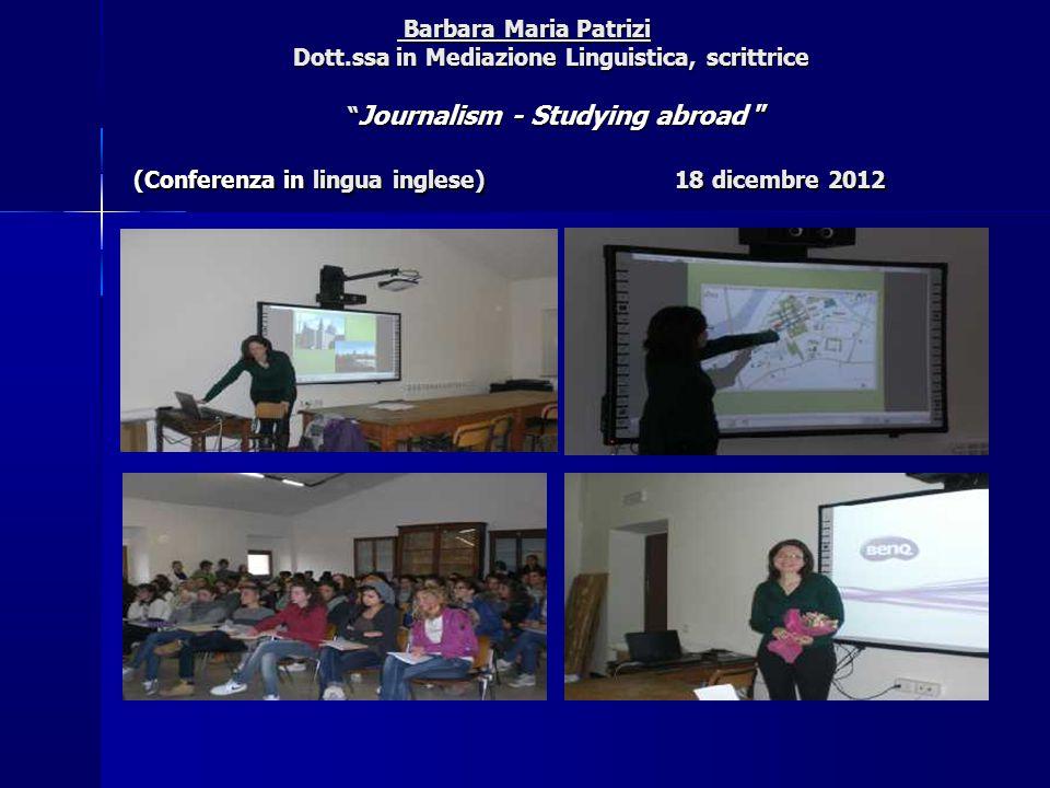 Barbara Maria Patrizi Dott