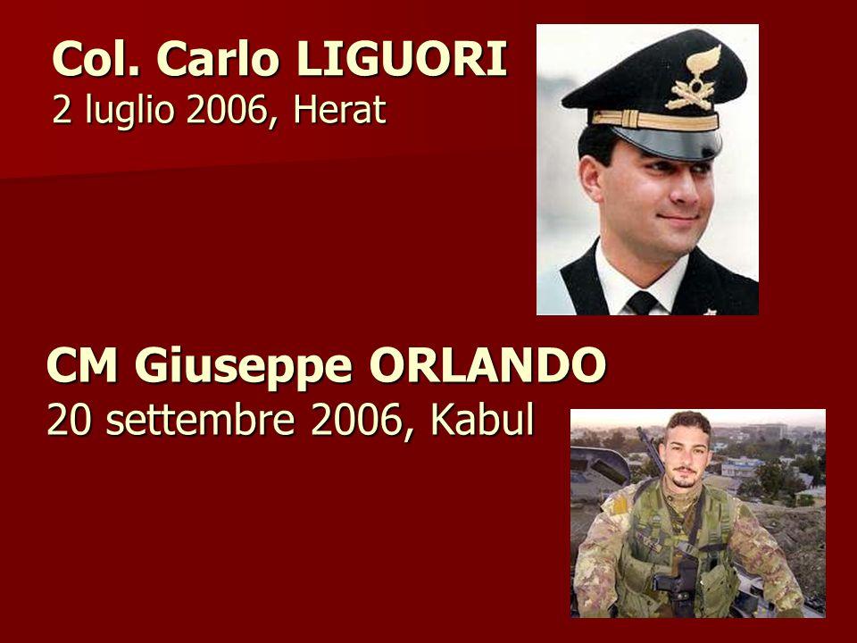 CM Giuseppe ORLANDO 20 settembre 2006, Kabul