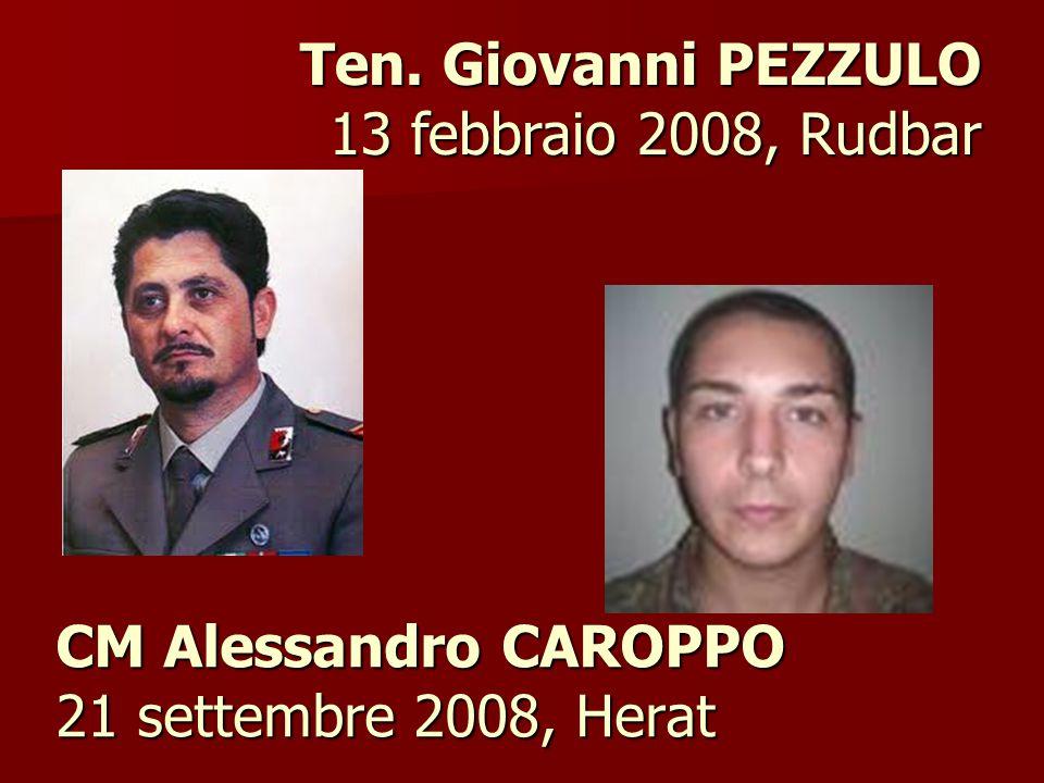 CM Alessandro CAROPPO 21 settembre 2008, Herat