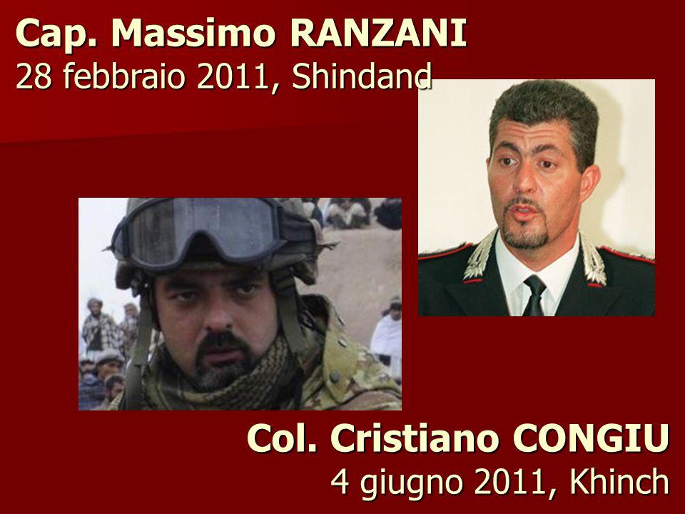 Col. Cristiano CONGIU 4 giugno 2011, Khinch
