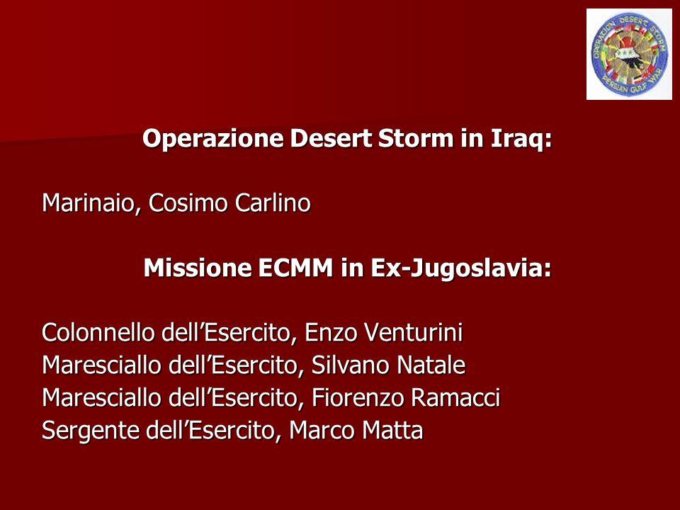 Missione ECMM in Ex-Jugoslavia: