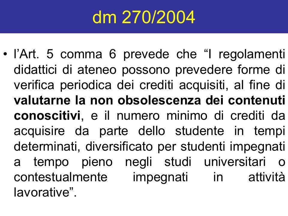dm 270/2004