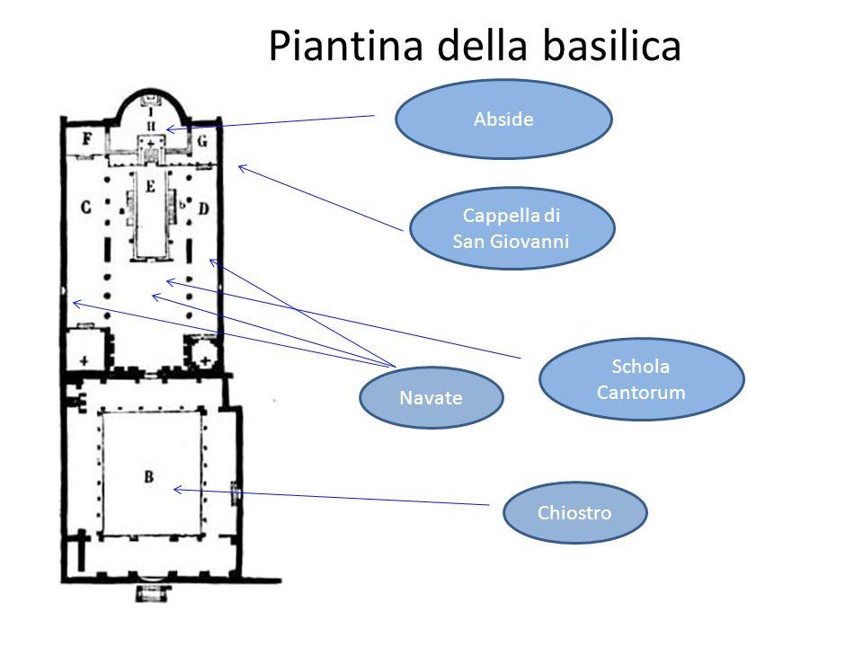 Piantina della basilica