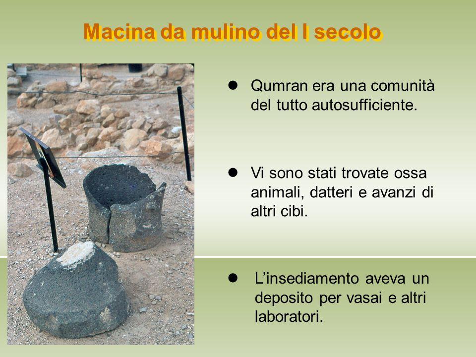 Macina da mulino del I secolo