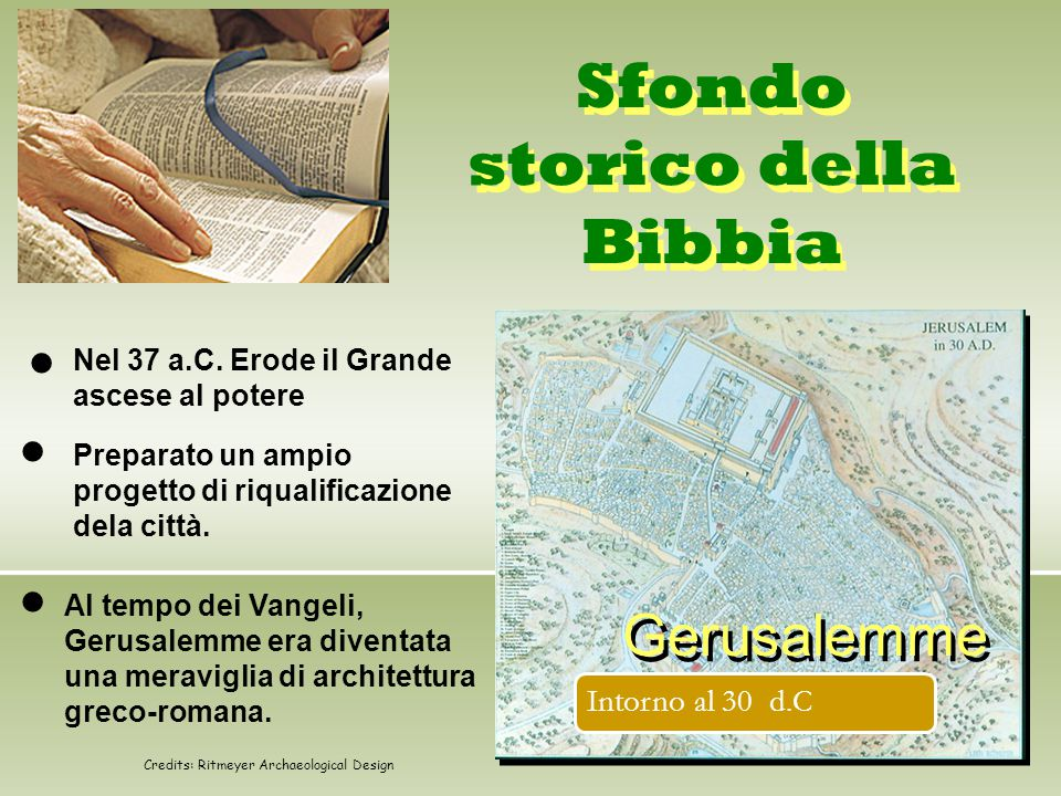 Sfondo storico della Bibbia