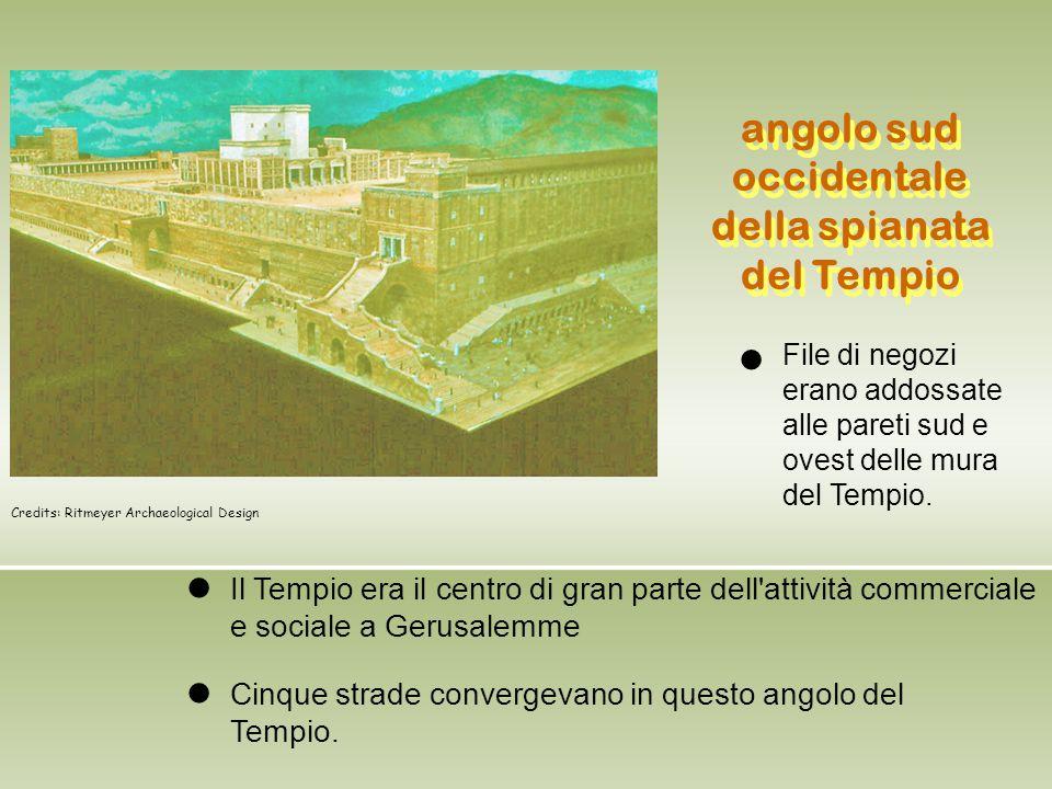 angolo sud occidentale della spianata del Tempio