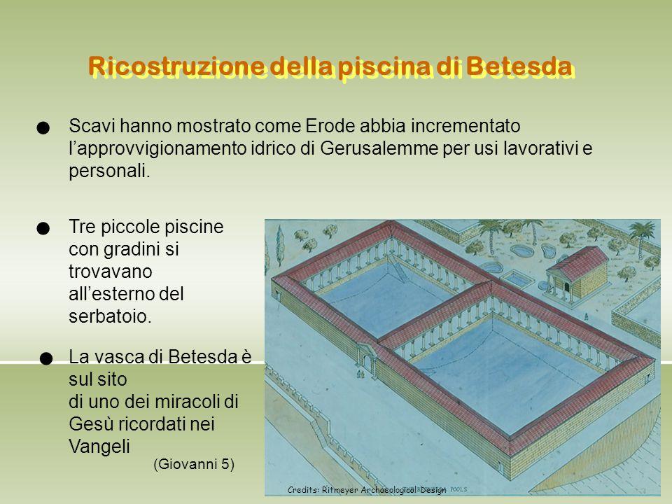 Ricostruzione della piscina di Betesda