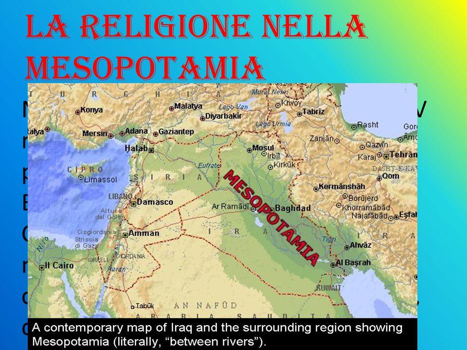 la religione nella mesopotamia
