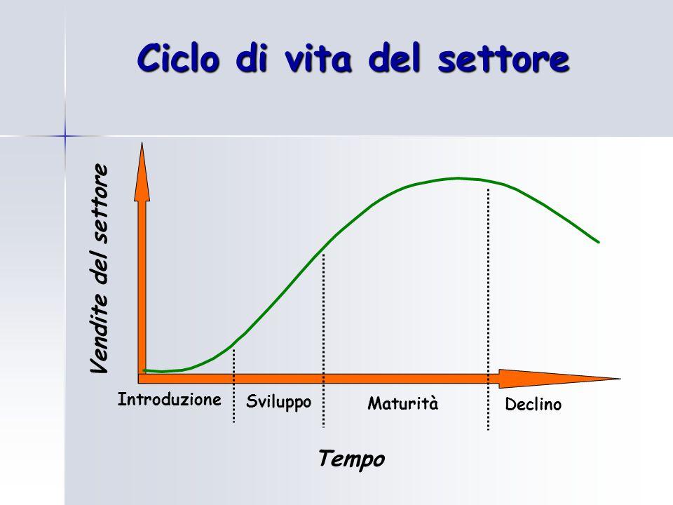 Ciclo di vita del settore