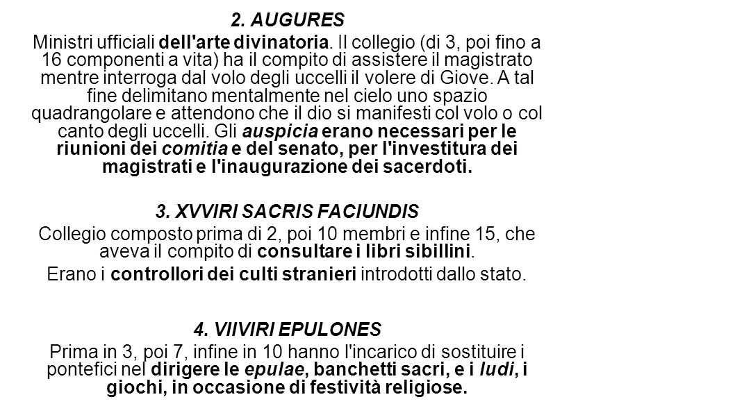 3. XVVIRI SACRIS FACIUNDIS
