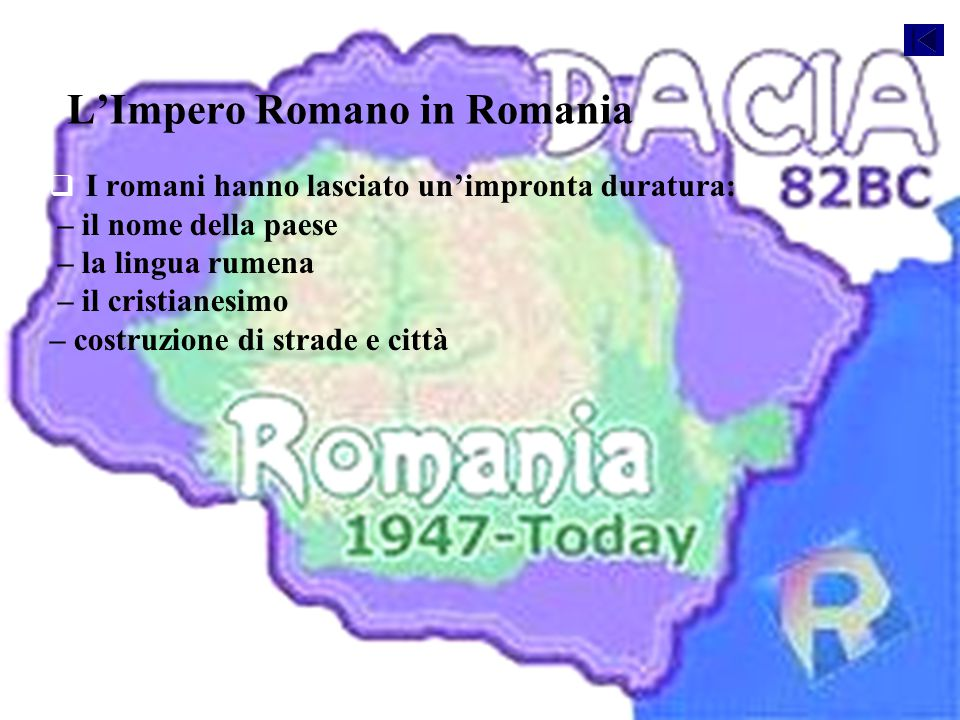 L'Impero Romano in Romania