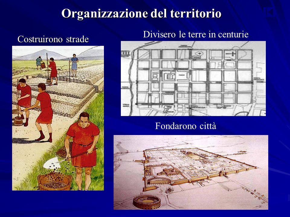 Organizzazione del territorio