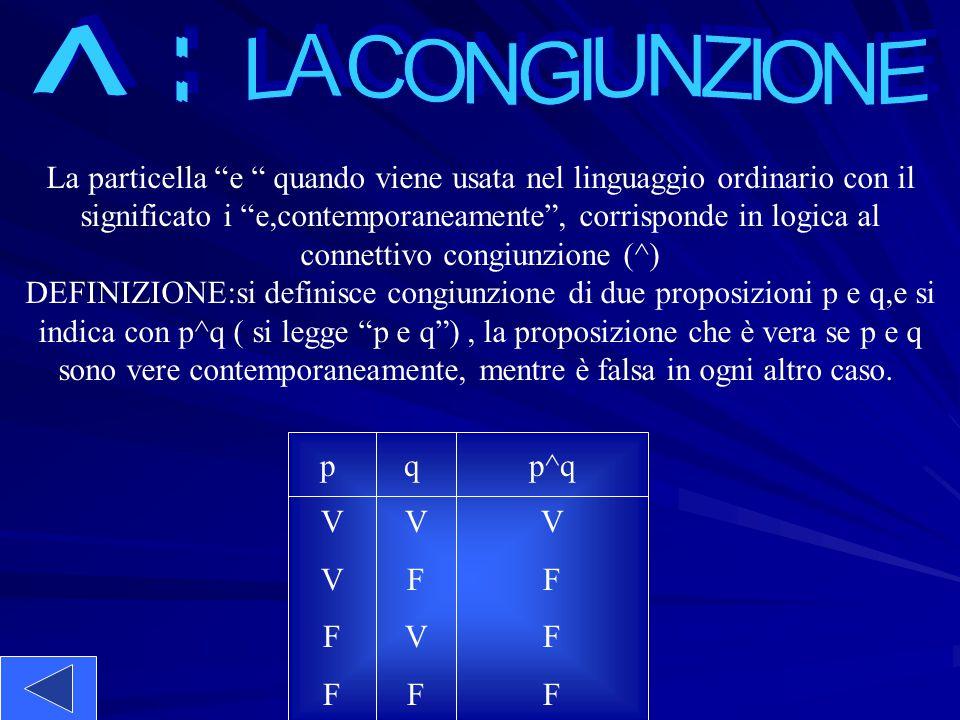 ^ : LA CONGIUNZIONE. La particella e quando viene usata nel linguaggio ordinario con il.
