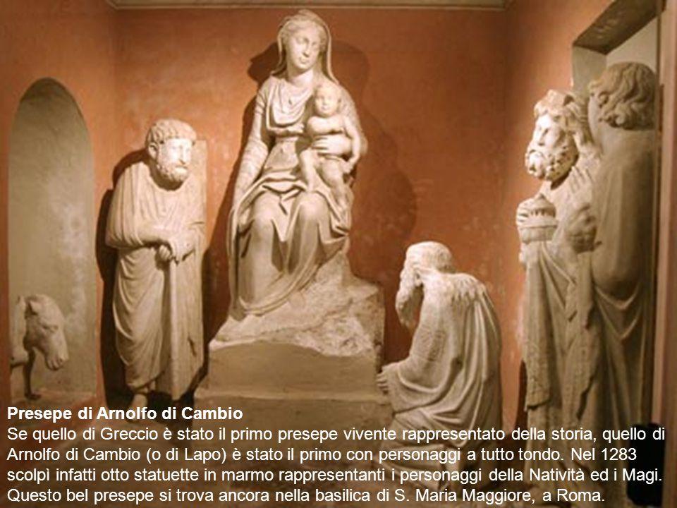 Presepe di Arnolfo di Cambio