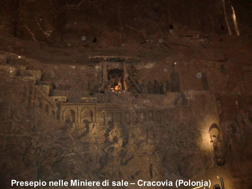 Presepio nelle Miniere di sale – Cracovia (Polonia)