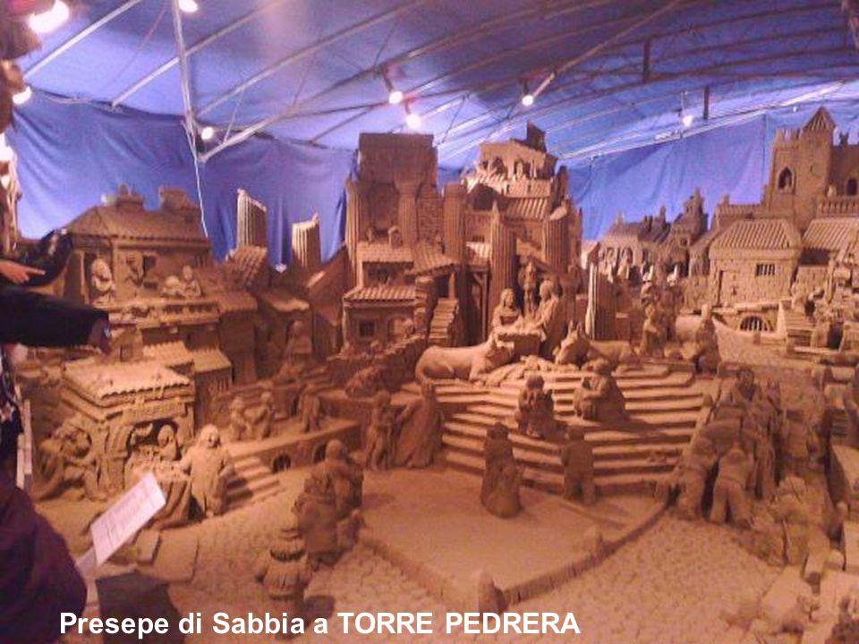 Presepe di Sabbia a TORRE PEDRERA