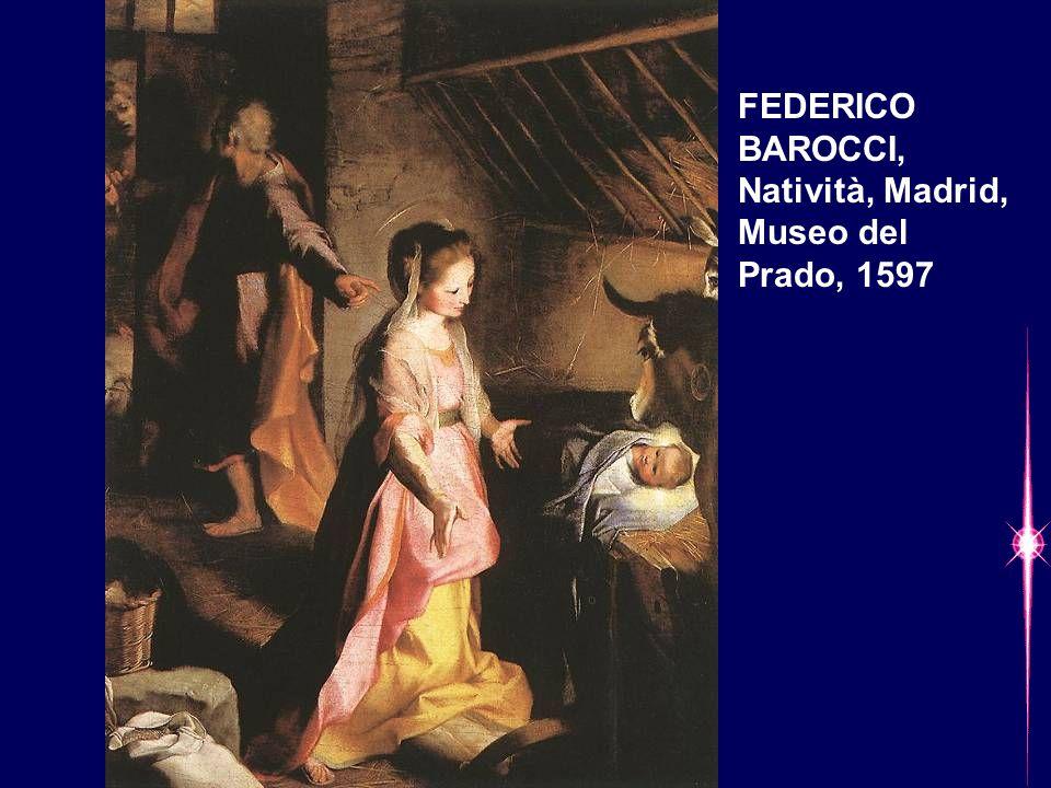 FEDERICO BAROCCI, Natività, Madrid, Museo del Prado, 1597