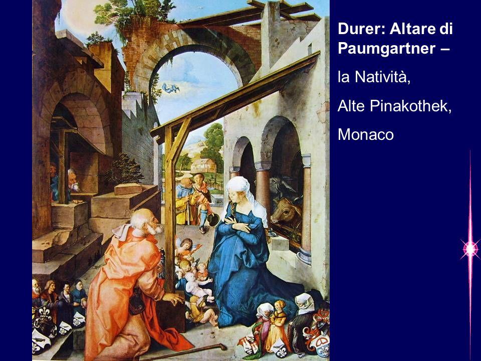 Durer: Altare di Paumgartner –