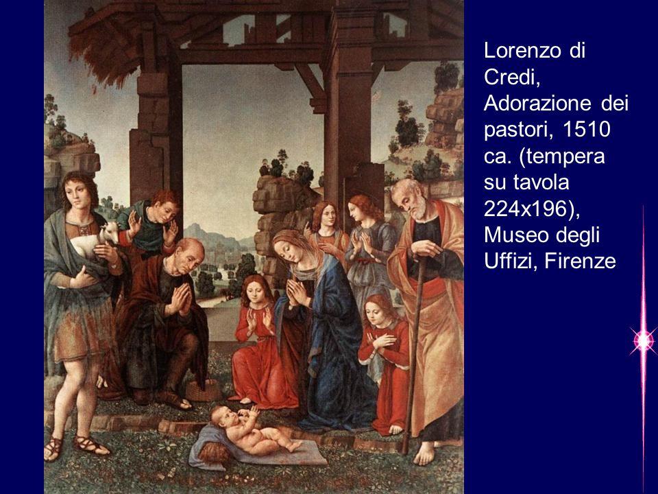 Lorenzo di Credi, Adorazione dei pastori, 1510 ca