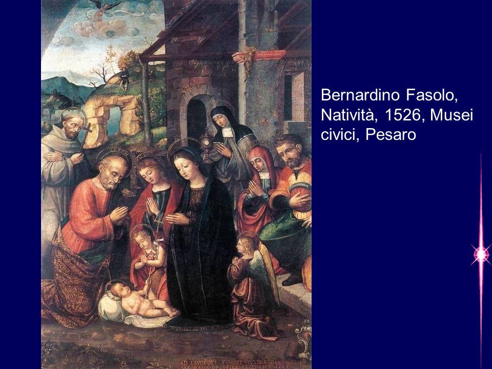 Bernardino Fasolo, Natività, 1526, Musei civici, Pesaro