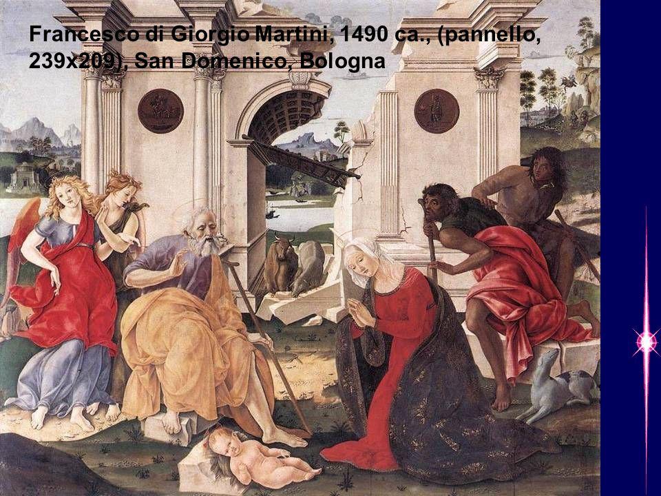 Francesco di Giorgio Martini, 1490 ca