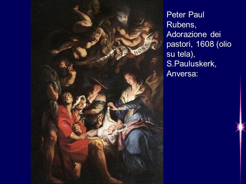 Peter Paul Rubens, Adorazione dei pastori, 1608 (olio su tela), S