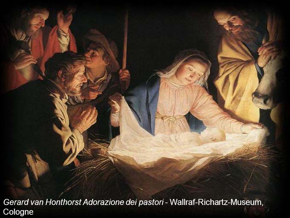 Gerard van Honthorst Adorazione dei pastori - Wallraf-Richartz-Museum, Cologne