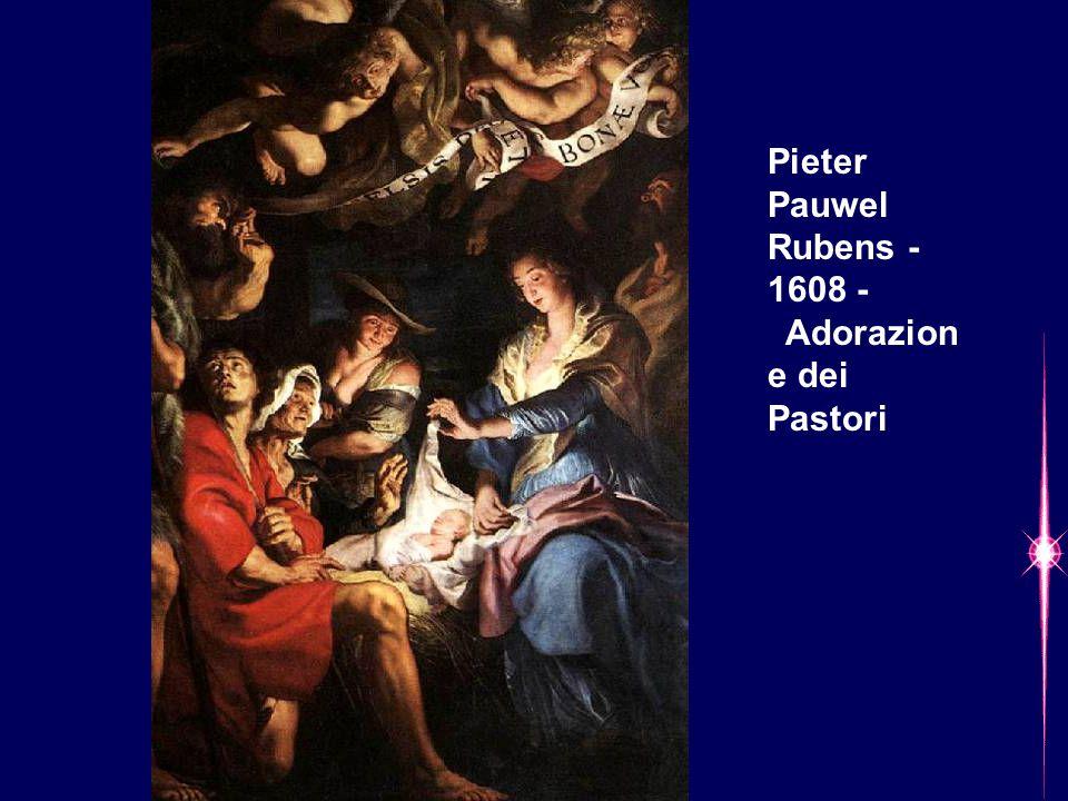 Pieter Pauwel Rubens - 1608 - Adorazione dei Pastori