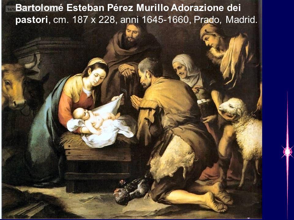 Bartolomé Esteban Pérez Murillo Adorazione dei pastori, cm