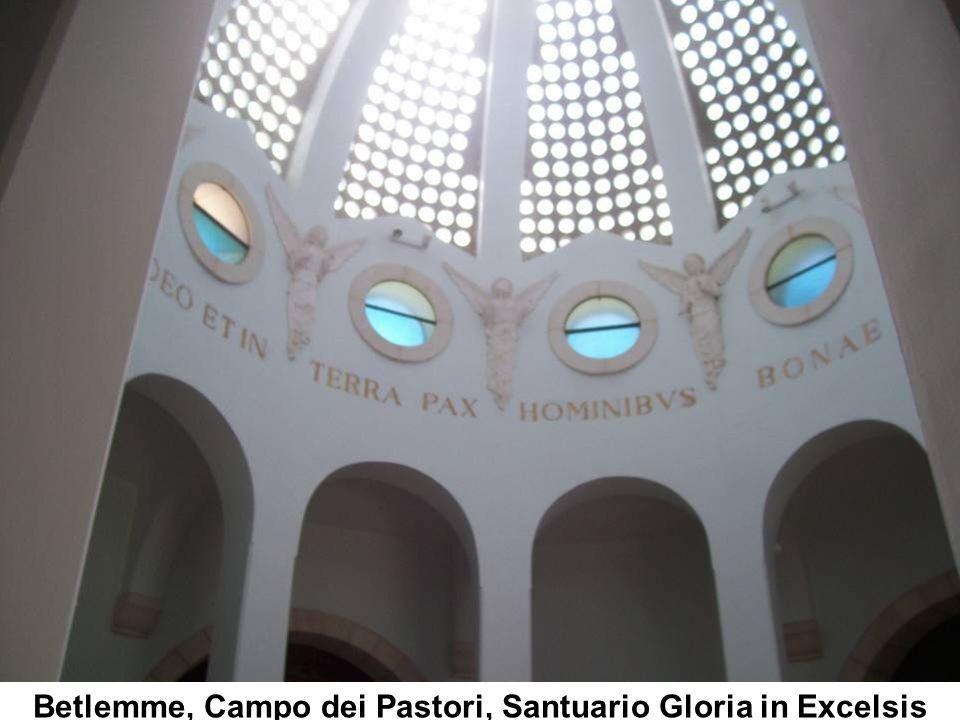 Betlemme, Campo dei Pastori, Santuario Gloria in Excelsis