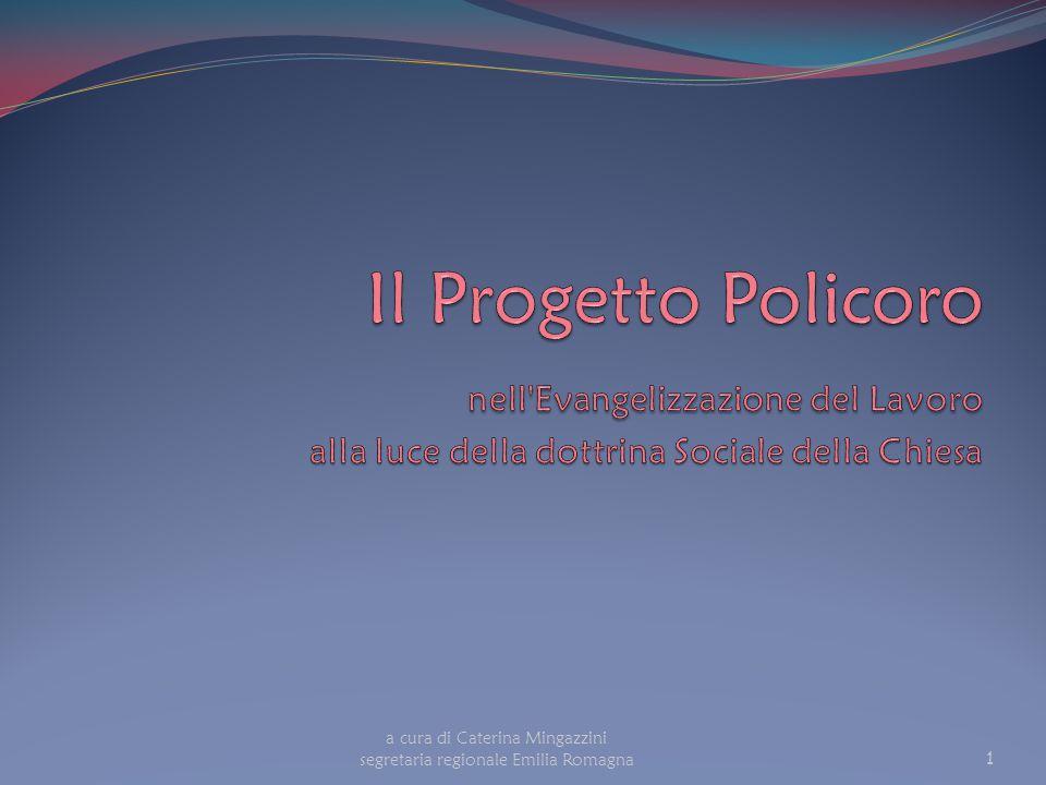 a cura di Caterina Mingazzini segretaria regionale Emilia Romagna