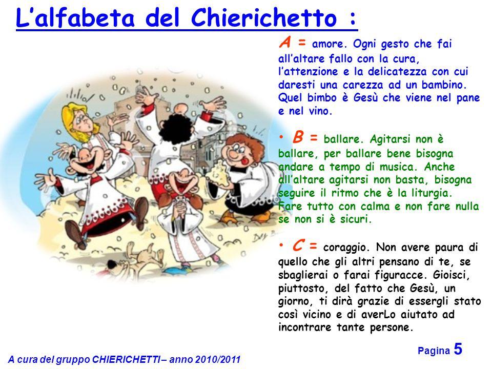 L'alfabeta del Chierichetto :