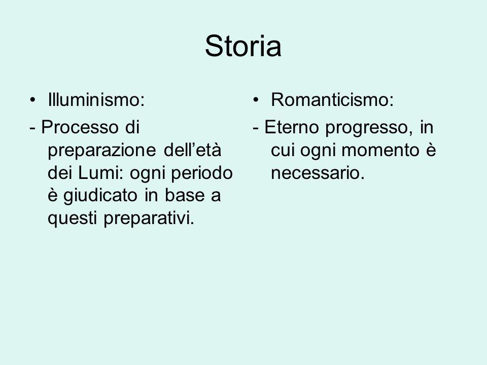 Storia Illuminismo: - Processo di preparazione dell'età dei Lumi: ogni periodo è giudicato in base a questi preparativi.