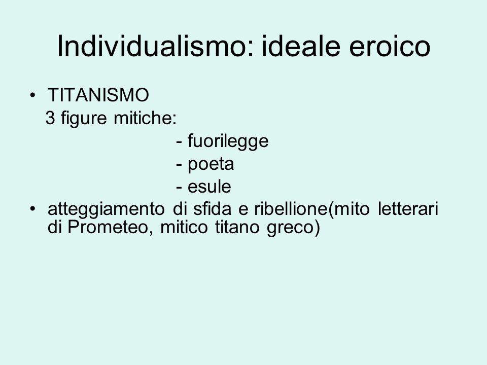 Individualismo: ideale eroico