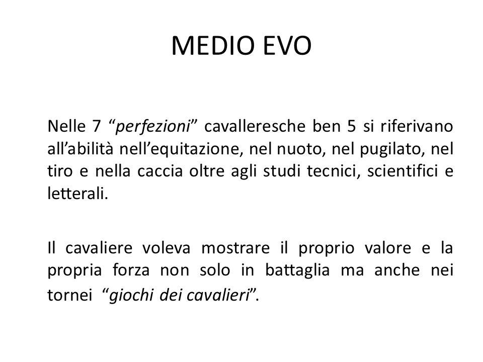 MEDIO EVO