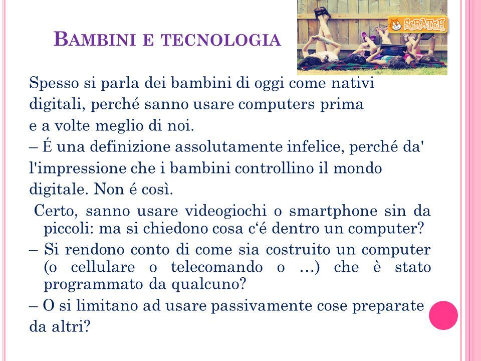 Bambini e tecnologia