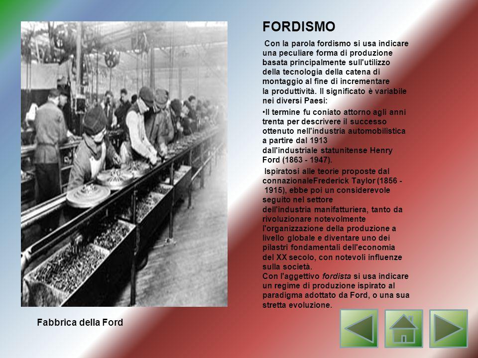 FORDISMO Fabbrica della Ford
