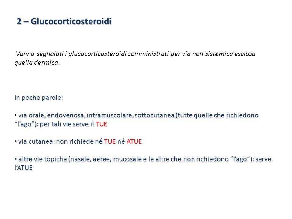 2 – Glucocorticosteroidi